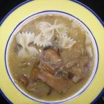zupa grzybowa z makaronem...