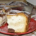 smaczne ciasto ucierane z...