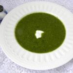 szpinakowo-ryżowa zupa...
