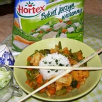 ryz z warzywami mrozonymi...