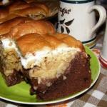 pyszne ciasto czekoladowe...