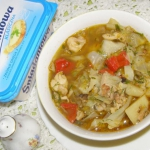 zupa warzywna na ostro na...