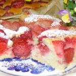 łatwe ciasto kisielowe...