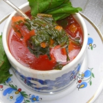 zupa botwinka z mlodymi w...