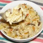 pyszna sałatka ryżowa...