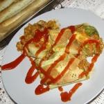 tortilla miesno-warzywna....