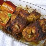 pieczony kurczak pyszny...