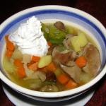 zupa jarzynowa z watrobka...