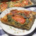 pizza żytnio-pszenna ze...