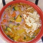 pyszna zupa gulaszowa z...
