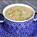 Zupa warzywna z kaszą i...