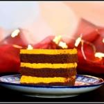 Dyniowe sero-brownie