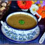 Zupa krem z grzybów...