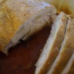 Pieczona szynka czosnkowa
