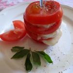 Pomidory z mozzarellą...
