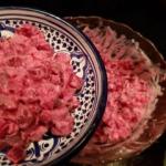 Rosyjska salatka z burako...