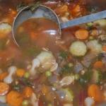 Zupa minestrone wg...