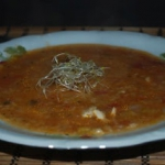 Brazylijska zupa z indyki...