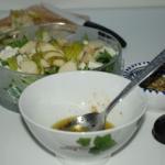 Salatka z gruszka, feta i...