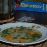 Zupa z młodej kalarepy...