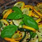 Salatka z grillowanej cuk...