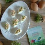 Jajka nadziewane pasta z ...