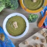 Zupa krem z brokulami dla...