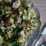 Salatka z zielonych warzy...