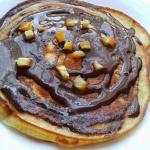 Pancakes z czekolada
