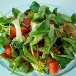 Lekka salatka z roszponki...