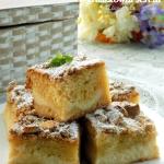 ciasto z gruszkowym serem...
