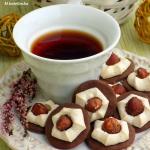 ciasteczka kakaowe z beza...