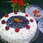 winny tort z mascarpone