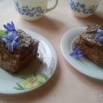 ptysiowe ciasto czekolado...