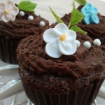 cupcakes czekoladowo -...