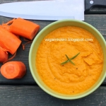 Zupa - krem z marchwi.