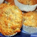 Polrazowe Muffiny z Rabar...