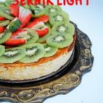 Waniliowy sernik light -...
