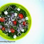 Fit sałatka z nasionami...