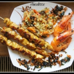Thai Satay & Shrimps