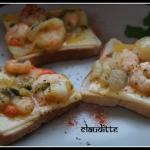 Shrimp toast.