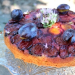 Upside down plum cake –...