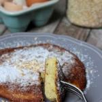 Omlet owsiany z jabłkiem