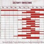 Kalendarz owoców...