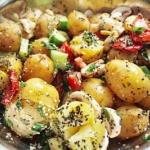 Letnia salatka z ziemniak...
