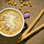 Zupa cebulowa - krem