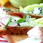 Zielona pasta do kanapek...