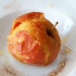 Pieczone jabłko z...