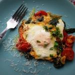 Jaja sadzone w pomidorach...