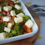 Brokuły z marchewką i...